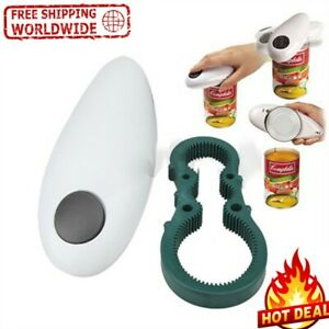 Electric Can Opener Automatic Jar Open Kitchen Tin Bottle Hands Free Touch Tool