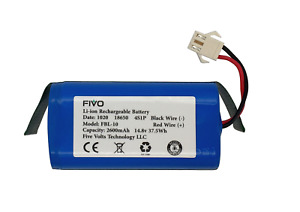 Replacement Battery for Shark Ion RV750 RV720 RV725 RV700 Models 3 prongs plug $22.99