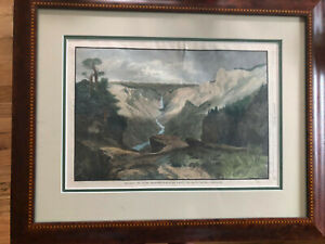 Thomas Moran Original Framed Chromolithograph The Grand Cañon of the Yellowstone $3,000.00