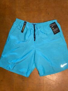 "Nike Flex Stride 7"" Dri Fit Running Shorts Aqua Men's Size Medium $64.98"