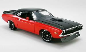 New Acme 1:18 Scale 1970 Dodge Challenger RT Street Fighter Red A1806014