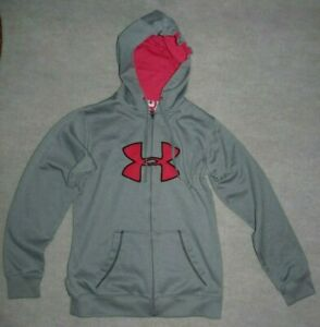 Woman's Under Armour Zip Up Hoodie Gray sz Small $10.00