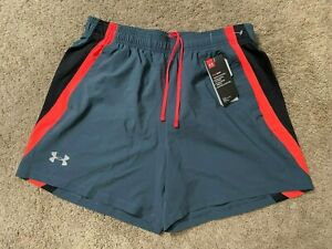 New! Under Armour UA 5 Running Shorts Men's Size Large L Nice! $7.50