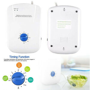 15W 400mg/h Home Water Food Sterilizer Ozone Generator Ozonator Air Purifier HOT