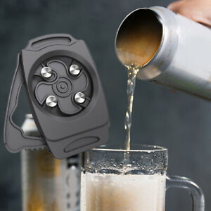 Go Swing Manual Topless Can Opener Beer Cola Top Drafter Bottle Opener Party