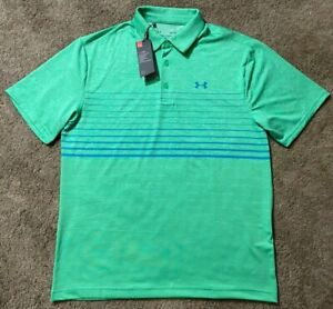 New! Under Armour UA The Playoff Polo Golf Shirt Men's Large L $65 Nice! $16.00