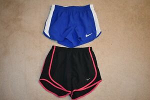 NIKE DRI FIT LOT OF 2 Women's Brief Lined Running Shorts Size XS $8.50