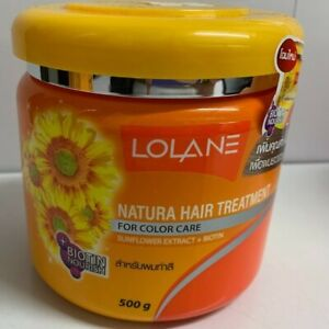 2x 250 ml.LOLANE Hair Treatment for Nourishing Color Care Sunflower Extract $26.60