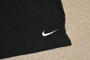 NIKE DRI FIT Men's Mesh Lined Polyester Running Shorts Black Size Small $7.99