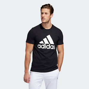 New With Tags Adidas Mens Logo Tee Top Athletic Muscle Gym Shirt $19.99