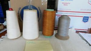 Vintage Thread on spools. lot of 40 $15.00
