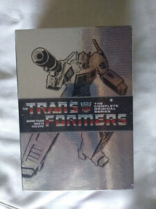 Transformers: The Complete Original Series DVD 15 Disc Box Set New Free Shipping $43.95