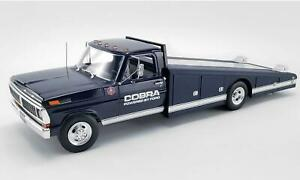 New Acme 1:18 1970 Ford F 350 Ramp Truck Shelby Cobra A1801405