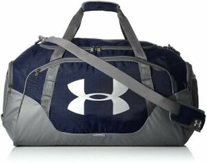 Under Armour UA Undeniable 3.0 Large Duffle Bag Midnight Navy Graphite 82L $45.00