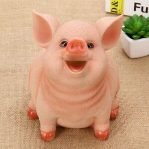 Small Pig Piggy Bank Saving Pot Office Home Decor Meaningful Birthday Child Gift $16.19