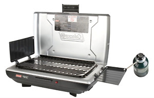 Coleman Camping 10000 BTU Propane Camp Grill Stove Outdoor Cookware Burner Gas