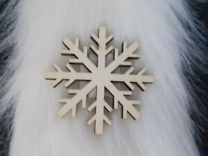 NEW Fab Lab Snowflake Wood Shape Unfinished Paint Decorate Yourself HTF