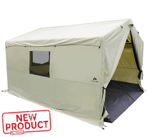 Large 12#x27;x10#x27; Wall Outfitter Tent W Stove Jack Outdoor Camping Hunting Family