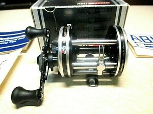 ABU GARCIA AMBASSADEUR FISHING REEL W BOX 6500 C CLEAN amp; WORKS GREAT
