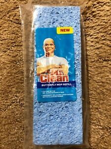 MR. CLEAN Butterfly Mop Refill Discontinued New in Package