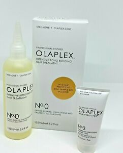 OLAPLEX No 0 amp; No 3 INTENSIVE BOND BUILDING HAIR TREATMENT KIT 5.2 OZ