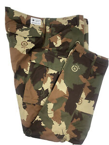 LRG Mens Cargo Camouflage Pants Brown Green 40 x 32 Cotton NEW