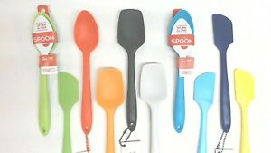 GIR Assorted Platinum Grade Silicone Mini Kitchen Utensils Various Colors
