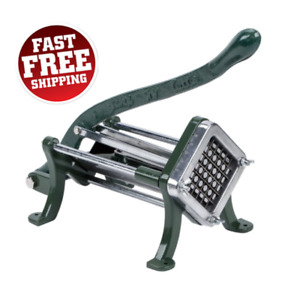 1 2quot; Commercial Potato French Fry Chopper Slicer Cutter Wedge Restaurant Dicer