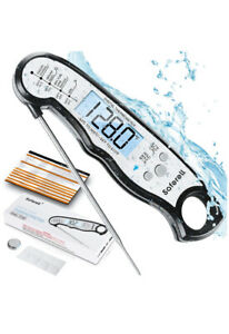instant digital meat thermometer for cooking fast and precise with magnet $8.00