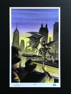 ALEX ROSS rare BATMAN: TRIBUTE limited MATTED print 63 250 NYCC 2019 LAST ONE $69.99