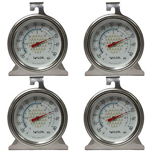 Tru Temp Refrigerator Freezer Thermometer 4 Pack $11.96