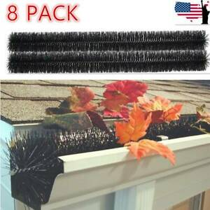 8 Pack GutterBrush Standard Filter Brush Gutter Guard Brush For 4#x27;#x27; DIA Filter $41.99