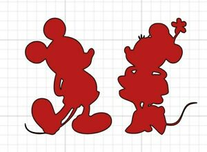 Mickey And Minnie Mouse Decal Special Order