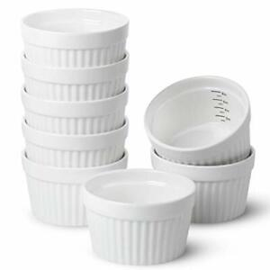 Set of 8 Ramekins for Baking Ramekins 8 oz Ramekin with Measurement Markings $24.95