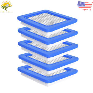 5Pcs Air Filter Lawn Mower Fit for Briggs Stratton 491588 491588S 399959 $8.51