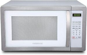 Farberware 1.1 Cu. Ft. 1000 Watt Microwave Oven with LED Lighting Cubic Feet