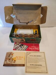 Mirro Aluminum Cooky Cookie Pastry Press and Decorator Set 358 AM Vintage $18.99