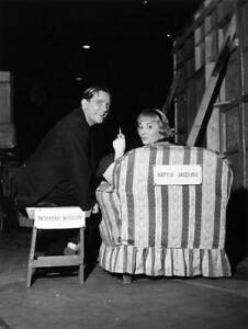 1959 English Actress Hattie Jacques With Norman Wisdom OLD PHOTO AU $8.50