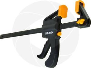 12inch Ratcheting Bar Locking Clamp Ratchet Holding Spreader Squeeze Woodwork C $6.19