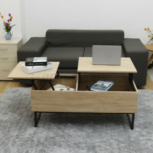 41#x27;#x27; Lift Top with Storage Coffee Table Modern Wood Living Room Furniture Drawer $96.99