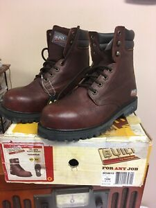 GEORGIA BOOTS Built Work Boot BG8613 SIZE 10M NIB Safety Toe