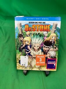 Dr. Stone Bluray DVD Digital with Slipcover Includes Art Cards $20.00