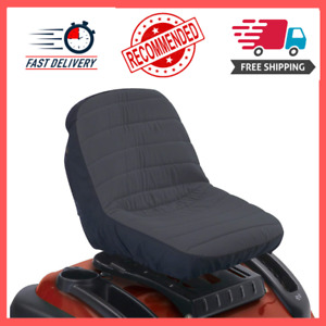 Mower Tractor Riding Protector Garden Lawn Seat Cover Waterproof Black Small NEW $24.50