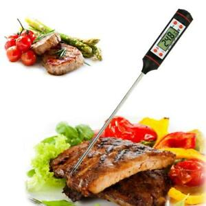 Instant Digital Read Food Probe Cooking Meat Oven Milk Water Oil Temperature LCD $9.50