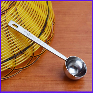 Coffee Scoop Stainless Steel Tablespoon Kitchen Measuring Sugar Powder Tea Scoop $42.99