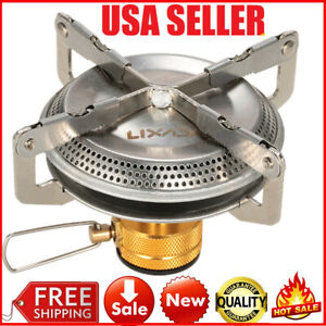Lixada Portable Outdoor Camping Gas Stove Hiking Picnic Cooking Stove 3500W H3Y5
