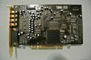 CREATIVE SOUND BLASTER X FI 7.1 PCI SOUND CARD W AD LINK PORT DELL CT602 SB0460 $18.95