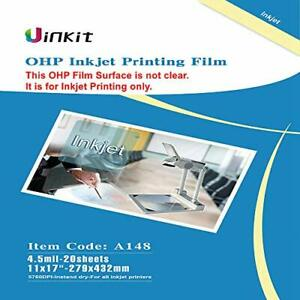 OHP Film Overhead Projector Film 11x17 For Inkjet Printer only Transparency $32.59