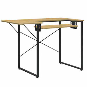 Sew Ready Dart Multipurpose Sewing Table Workstation w Folding Top Black Brown $92.24