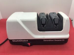Chefs Choice Diamond Hone Electric Sharpener Knives 315.